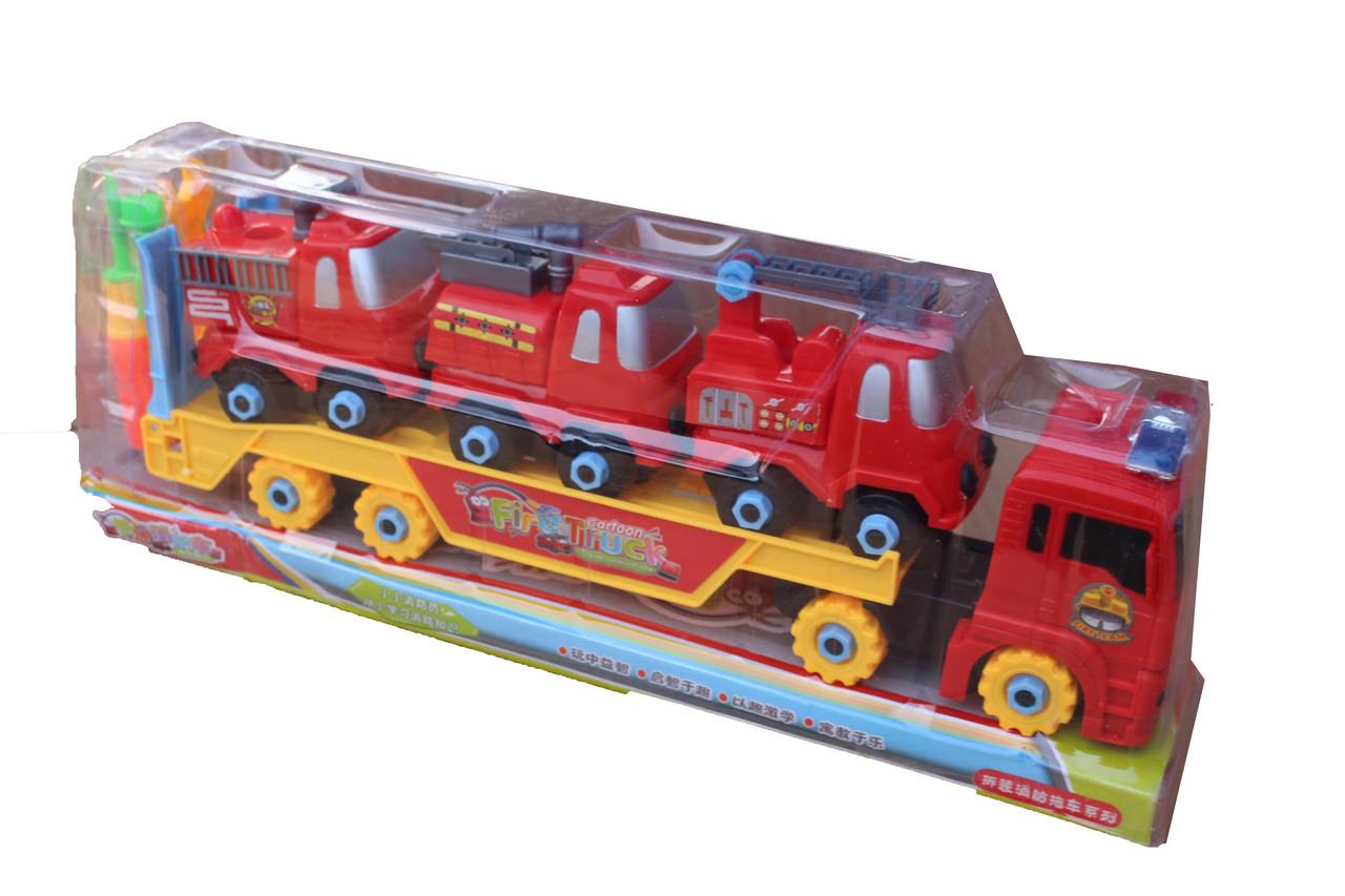 Трал с Пожарными Машинками HL8637