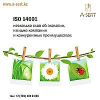 Услуга по сертификации ISO 14001