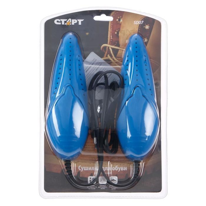 "Сушилка для обуви ""Старт"" SD07, 12 Вт, арома-пластик, керамика, 18x6x4.5 см, 60-75°С - фото 3"