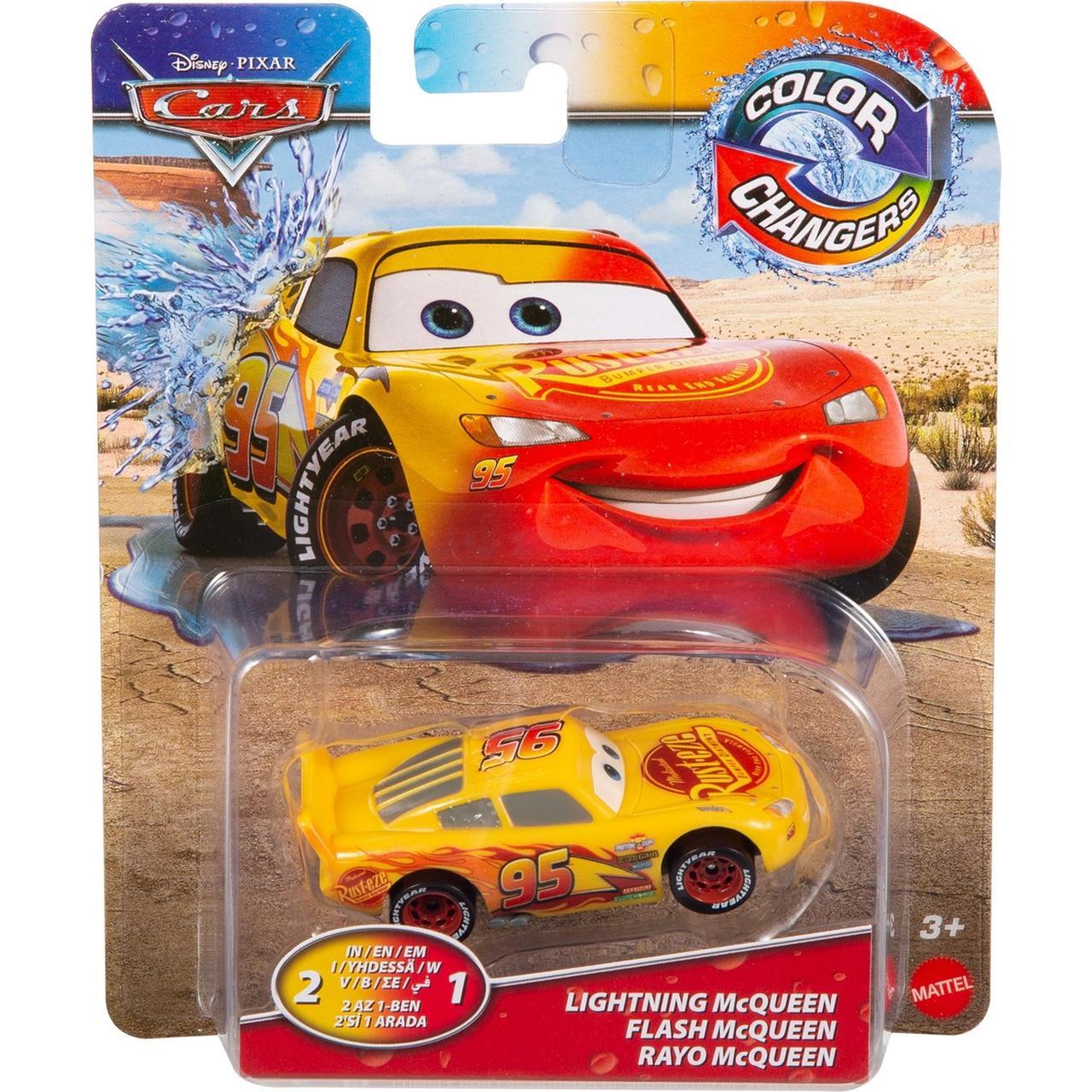 "Cars / Тачки ""Меняющие цвет"" Машинка Молния МакКуин №95"