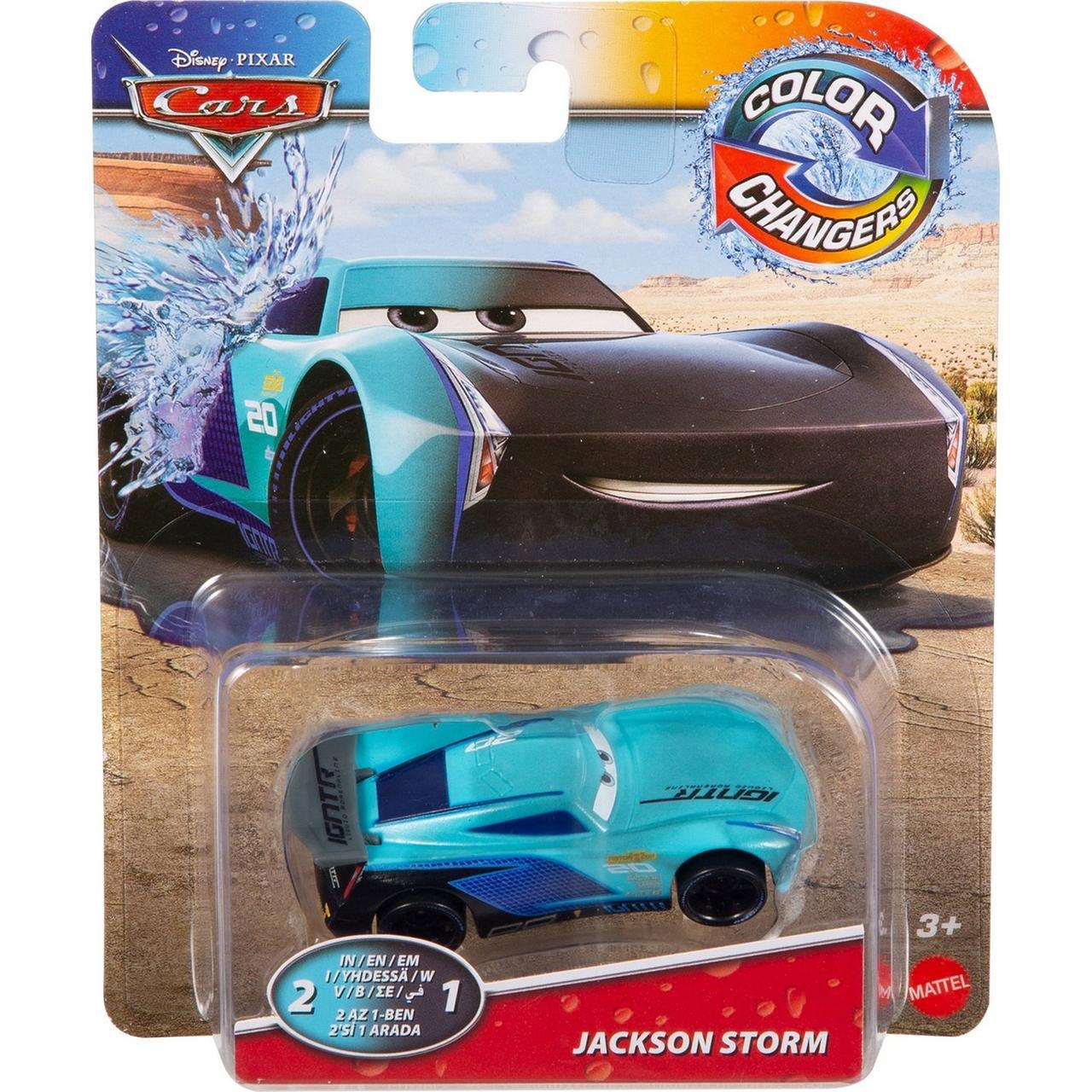 """Cars / Тачки """"Меняющие цвет"""" Машинка Джексон Шторм №20"""