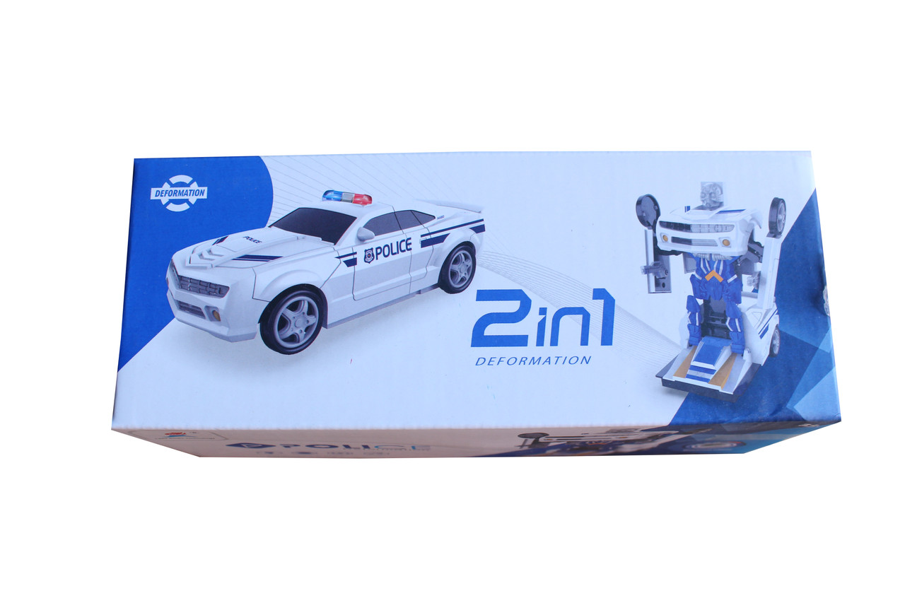 Робот полицейский 2в1 66101-2