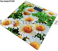 Электронные напольные весы Ravenda Ecology Series RNV-2164 с рисунком Цветов