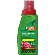 Bona Forte Красота Жидкое минеральное удобрение Для декоративно-цветущих растений, флакон 285 мл