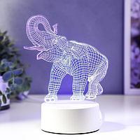 "Светильник ""Слон"" LED RGB от сети"