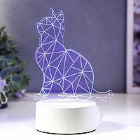 """Светильник """"Кот сидя"""" LED RGB от сети, фото 1"""