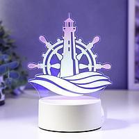 "Светильник ""Море"" LED RGB от сети 13х14,3 см"