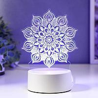 "Светильник ""Сандала"" LED RGB от сети 13х15,2 см"