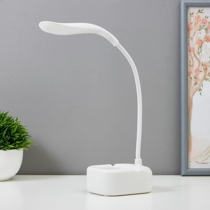 Лампа настольная 16052/1 14хLED 4Вт АКБ USB МИКС  8х10х40 см