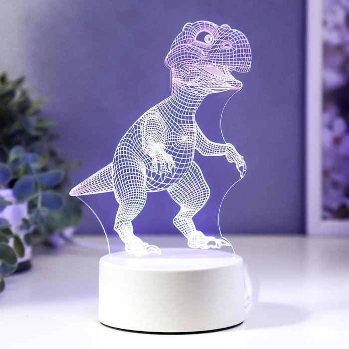 "Светильник ""Тираннозавр"" LED RGB от сети"