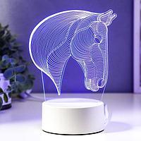 """Светильник """"Лошадь"""" LED RGB от сети"""