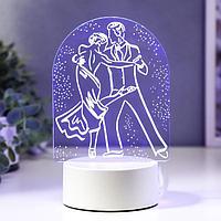 "Светильник ""Танго"" LED RGB от сети 13х17,5 см"