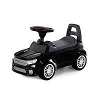 """Каталка-автомобиль """"SuperCar"""" №6 со звуковым сигналом, чёрный 84613"""