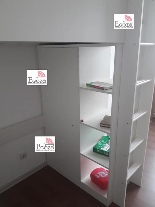 Кровать чердак Polini Simple