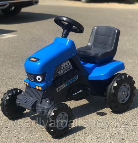 "Каталка-трактор с педалями ""Turbo"" + Полуприцеп ""Turbo"" - фото 6"