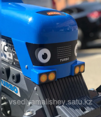 "Каталка-трактор с педалями ""Turbo"" + Полуприцеп ""Turbo"" - фото 8"