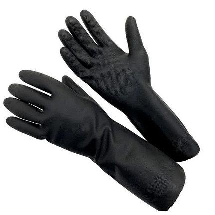 Перчатки индустриальный латексный МБС КЩС, фото 2