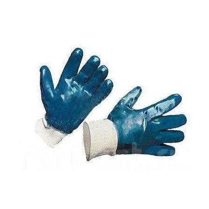 Перчатки нитриловые (манжет-резинка, полное покрытие), фото 2
