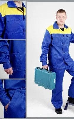Костюм рабочий техник Куртка+ полу комбинезон, фото 2