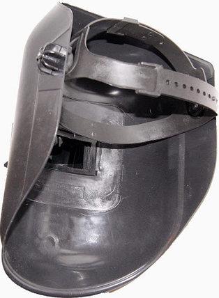 Маска сварщика пластик, стекло 110*90, ГОСТ Р 12.4.238-2007, фото 2