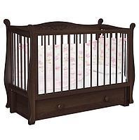 Детская кровать Джулия Пу (белый, слон.кость, шоколад)