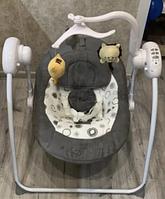 Электрокачель MARBELLA GRAY/Серый КРУГИ пульт, MP3,москитн. сеть,адаптер,71*66*77 см(Pituso, Испания)