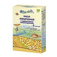 "Каша кукурузная безмолочная с пребиотиками гипоаллергенная ""Fleur Alpine"" с 5 мес. 175 г"