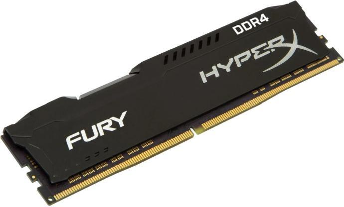 Модуль памяти Kingston HyperX Fury HX436C17FB3/8  DDR4 DIMM 8Gb 3600MHz
