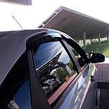 Ветровики дверей (дефлекторы окон) Lada Vesta седан (2015-), фото 3