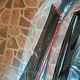 Ветровики дверей (дефлекторы окон) Lada Granta лифтбек (2013-), фото 6