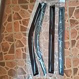 Ветровики дверей (дефлекторы окон) Lada Priora универсал (2009-), фото 4