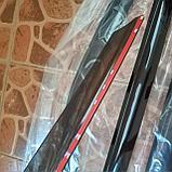 Ветровики дверей (дефлекторы окон) Lada Priora универсал (2009-), фото 2