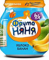 Пюре детское ФРУТОНЯНЯ яблоко-банан