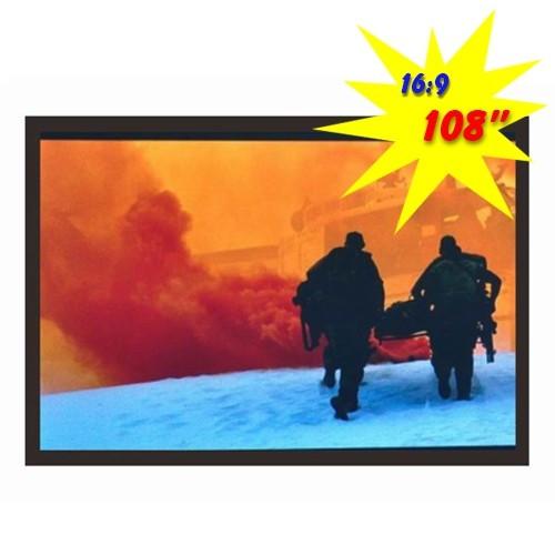 Экран настенный с каркасом, 2,4 * 1,35, PSGA108