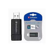 USB накопитель 16GB 2.0 Verbatim 049063 черный