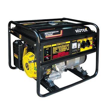 Электрогенератор Huter DY5000L, 4/4.5 кВт, 220 В, 22 л, ручной старт