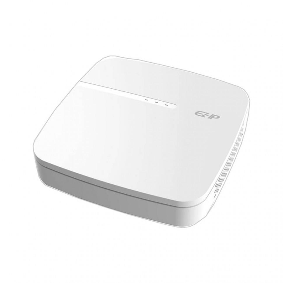 Видеорегистратор EZIP NVR1A04-4P 4-канальный сетевой, Smart, 1U, 4PoE