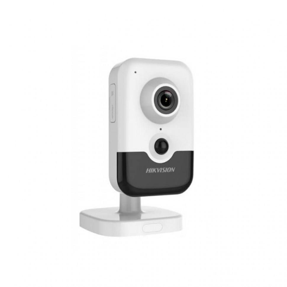 Видеокамера Hikvision DS-2CD2443G0-IW (4 мм) IP кубическая 4МП, WI-FI
