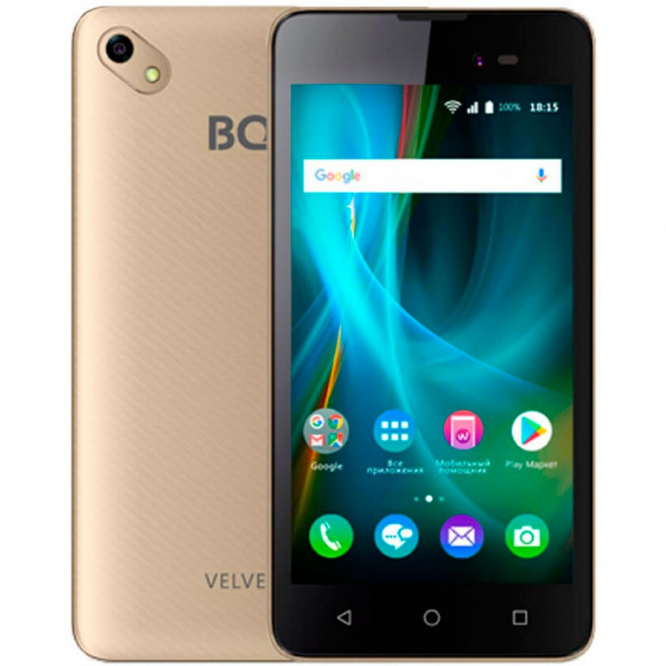 Смартфон BQ-5035 Velvet Золотой