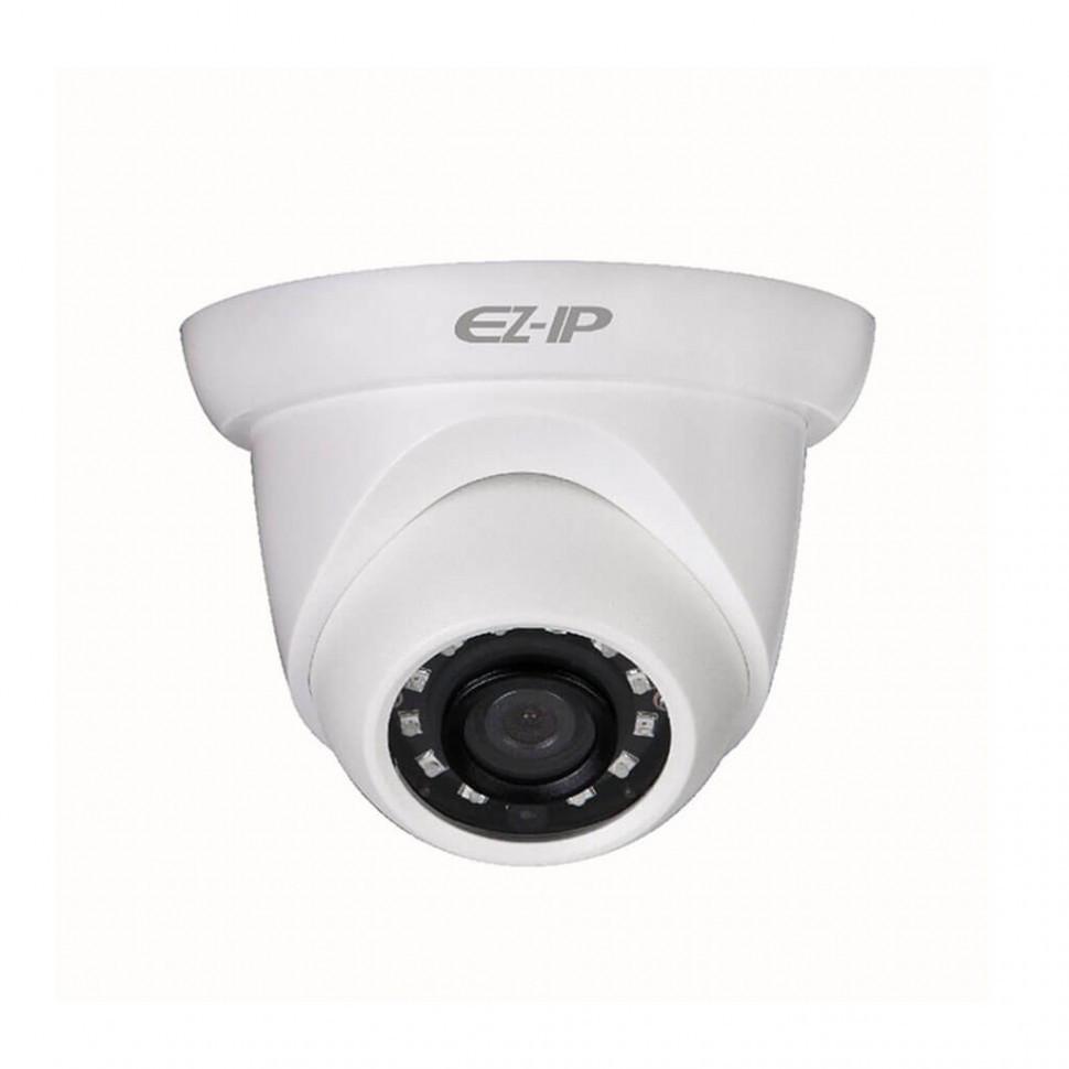 Видеокамера EZIP IPC-T1A20 (2,8 мм) 2МП ИК купольная сетевая