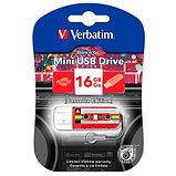 USB Флеш 16GB 2.0 Verbatim 049398 casette красный, фото 2