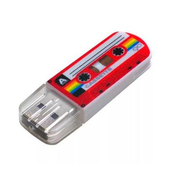 USB Флеш 16GB 2.0 Verbatim 049398 casette красный