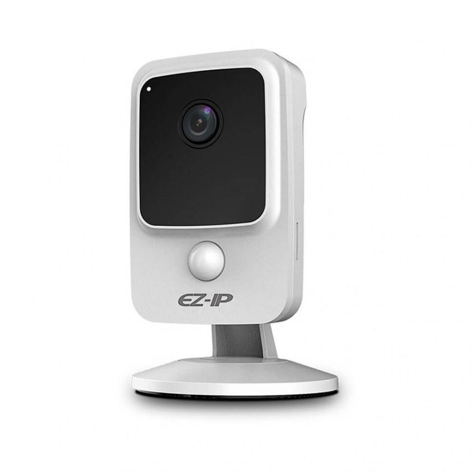 Видеокамера EZIP IPC-C1B2WP IP кубическая видеокамера 2Мп Wi-Fi