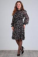 Женское осеннее шифоновое большого размера платье Jurimex 2325 52р.