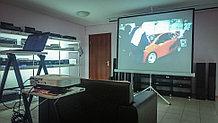 Аренда проекционного оборудования (проектор с мобильным экраном)