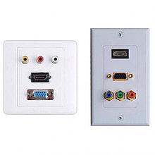 Услуги по изготовлению и монтажу розеток HDMI (расходные материалы, оборудование, включены в стоимос