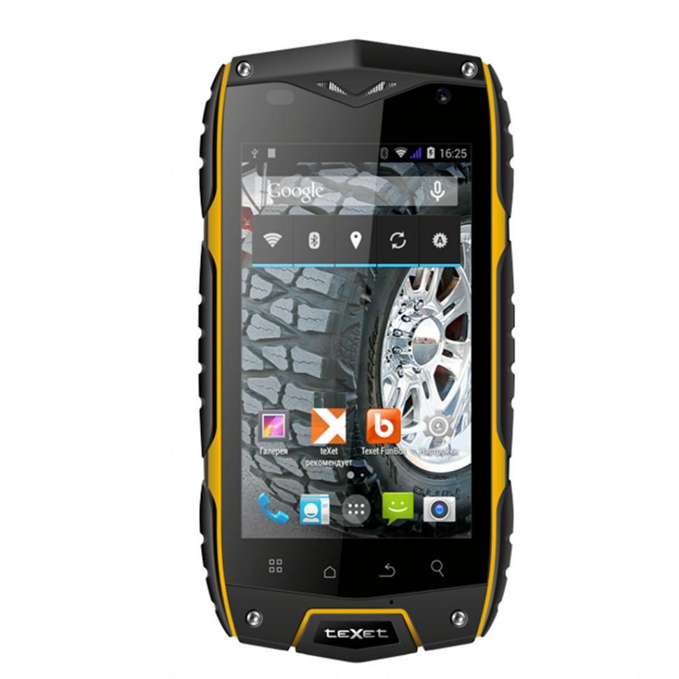 "Смартфон 4"" Texet X-DRIVER QUAD/TM-4082R черный"