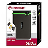 Внешний жесткий диск 2,5 500GB Transcend TS500GSJ25M3 + TS16GJF350, фото 2