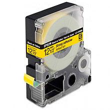 Лента Epson Tape - LK4YBW Strng adh Blk/Yell 12/9