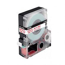 Лента Epson C53S654011LK-4WRN Стандартная лента 12мм, Бел./Красн., 9м